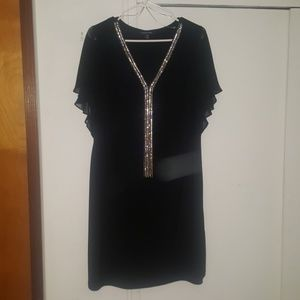 Roz & ALI black cocktail dress (1x)